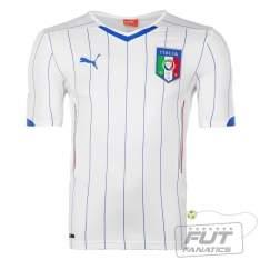 [Futfanatics] Camisa Puma Itália Away 2014 Juvenil - por R$40
