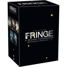 [Americanas] DVD - Coleção Fringe: A Grande Conspiração - Temporadas Completas 1-5 (29 Discos) - por R$180