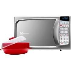 [Shoptime] Micro-ondas Electrolux Ma30S 20 Litros Prata - R$ 269,91