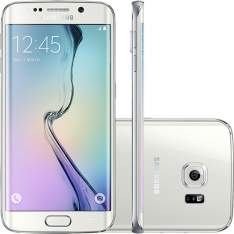 "[Submarino] Samsung Galaxy S6 Edge Branco Desbloqueado 32GB 4G Android 5.0 Tela 5.1"" Octa-Core Câmera 16MP - R$2069"