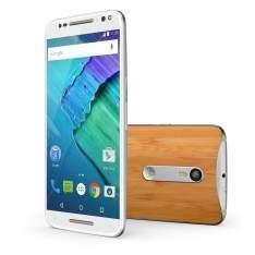 [Ponto Frio] Smartphone Moto X Style 32GB XT1572 Branco/Bambu com Tela de 5.7'', Dual Chip, Android 5.1, 4G, Câmera 21MP - R$1799
