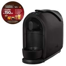 [EFACIL] Cafeteira Expresso Mimo Preta - Tres + 150R$ de CAPSULAS!!! POR R$256