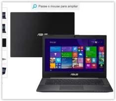 """[Submarino] Notebook ASUS PU401LA-WO075P Intel Core i7 6GB 500GB LED 14"""" Windows 8 Pro - Preto por R$ 2137"""