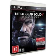 [Walmart] Jogo Metal Gear Solid V: Ground Zeroes - PS3 - R$ 30