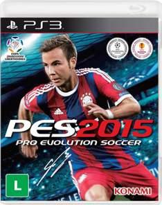 [Walmart] Jogo Pro Evolution Soccer 2015 - PS3 - R$ 30