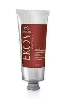 [Natura]  Polpa Hidratante Para Mãos e Unhas Castanha Ekos - 40g R$ 11