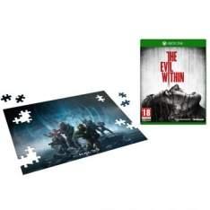 [Ricardo Eletro] Jogo The Evil Within para Xbox One (XONE) - Bethesda + Quebra-Cabeça Halo 5 - 150 peças por R$ 53
