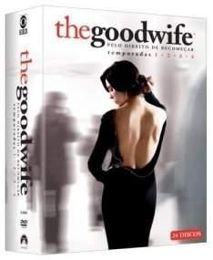 [SARAIVA] DVD Box The Goodwife - Pelo Direito de Recomeçar - 1ª A 4ª Temporada - 24 Discos - R$ 119,90
