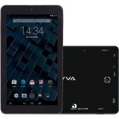 """[Sou Barato] Tablet Bravva BV 8GB Wi-Fi Tela 7"""" Android 5.0 Processador Quad Core 1.3GHz - Preto - R$179"""
