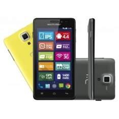 [Americanas] Smartphone MS5 Tela 4.5 Polegadas Colors Preto Celular Multilaser P3310 Cartão SD 8GB - R$343'