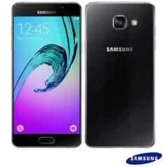 """[FASTSHOP] Samsung Galaxy A5 Duos Preto, com Tela de 5.2"""", 4G, 16 GB e Câmera de 13 MP - SM-A510   R$ 1.347"""