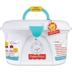 [DROGARIAS PACHECO] Kit Fisher-Price Cuidados com o Bebê com Maleta - R$60