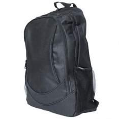 [RICARDO ELETRO] Mochila LEBKBP01 Compartimento para Notebook Até 15,4'' em Poliéster, Bolso Frontal e Laterais, Alças e Zíperes Reforçados, Preta - R$30