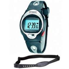 [RICARDOELETRO] Monitor Cardíaco Oregon HR 102, Cronômetro, Resistente a Água, Zona Alvo, Com Cinta Peitoral - R$ 84