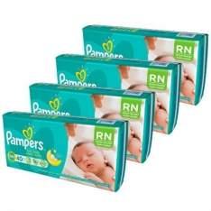 [Kangoolu - Voltou]  Fralda Pampers Total Confort Recém-Nascido 160 unidades - por R$80