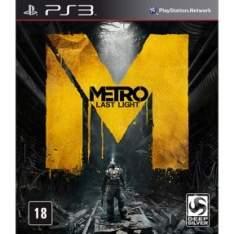[Submarino] Metro: Last Light Limited - PS3 - R$70