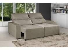 [MAGAZINE LUIZA] Sofá Retrátil e Reclinável 3 Lugares - Montana - American Comfort - R$700