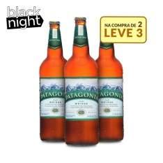 [Empório da Cerveja] 3 garrafas Patagonia Weisse 740ml por R$34