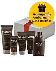 [Natura] Presente Natura Kaiak Expedição - Desodorante Colônia + Shampoo + Gel para Barbear + Gel após Barba + Gel Fixador + Embalagem Desmontada - R$123 Voltou!! + frete gratis!