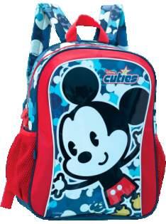 [SARAIVA] Mochila De Costas Yangzi Disney Mickey INFANTIL (PEQUENA) - Vermelha Com Azul - R$ 20,90