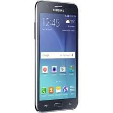 """[Sou Barato] Smartphone Samsung Galaxy J5 Duos Dual Chip Desbloqueado Android 5.1 Tela 5"""" 16GB 4G Wi-Fi Câmera 13MP - Preto por R$ 746"""