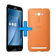 [Loja da Asus] ASUS Zenfone 2 Laser 5.5 Prata + Bumper Laranja por R$ 780