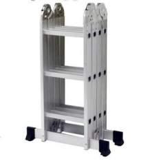 [Ricardo Eletro] Multifuncional 5131 4 x 3 em Alumínio 12 degraus capacidade 150 Kg - Mor por R$ 230