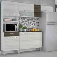 [AMERICANAS] Cozinha Compacta Serena 1500 Kits Paraná Branco/Rovere/Dubai = R$400