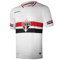 [Walmart] Camisa Penalty São Paulo I 2015 Sem Número Masculina Branca por R$ 65