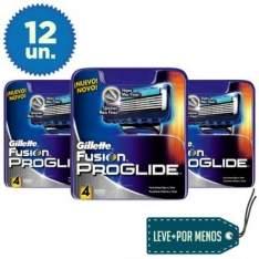 [ELETROSHOPPING] 12 Cargas Gillette Proglide Regular por R$76