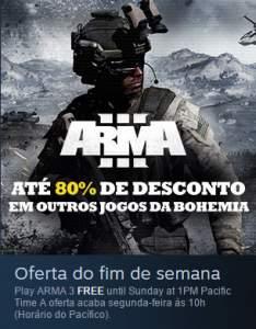 [STEAM] ARMA III: GRÁTIS E DESCONTO ATÉ 80%
