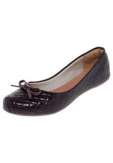 [Dafiti] Sapatilha Calçados Nayara Matelassê Marrom R$45