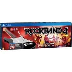 [Americanas] Game Rock Band 4 + Guitarra Stratocaster Wireless - PS4 por R$799