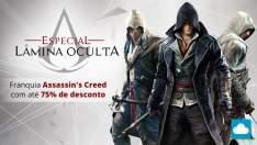 [Nuuvem] Franquia Assassin's Creed com até 75% off