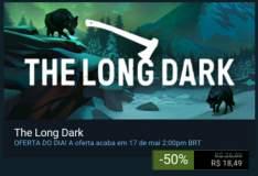 [STEAM] The Long Dark 50% desconto - R$18