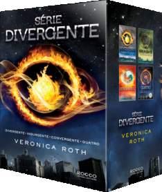 [SARAIVA]Box - Série Divergente - R$50
