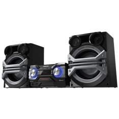 [EFACIL] Mini System SC-AKX600LBK CD 2 USB Bluetooth Max Jukebox Iluminação LED 2GB 1300W RMS - Panasonic POR R$1022,82