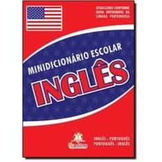 [CIA dos Livros] Minidicionário Escolar: Inglês R$3