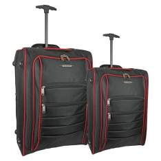 [EXTRA] Conjunto de Sacolas de Viagem SP Express Action AC800 com 2 Peças - Preto - R$128