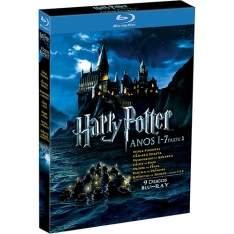 [Submarino] Coleção Completa Blu-ray Harry Potter: Anos 1-7B (8 Discos)  por R$ 90