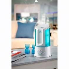 [SOU BARATO] Umidificador Ultrassônico Ultra Air Relaxmedic RM-HA0106 Branco - R$60