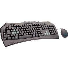 [SUBMARINO] Combo Gamer DAZZ - Teclado Megantereon com 9 teclas de atalho + Mouse 1800 DPI Ambidestro - R$83