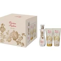 [Submarino] Kit Eau de Parfum Christina Aguilera Woman - Perfume Feminino 30ml + Gel de Banho 50ml + Loção Corporal 50ml - R$74