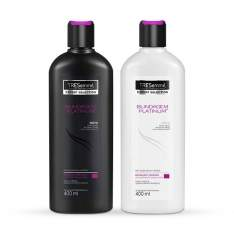 [Netfarma] Kit Tresemmé Blindagem Platinum Shampoo + Condicionador R$20
