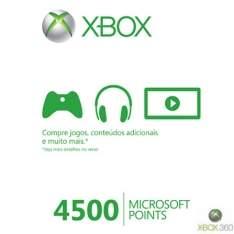 [FASTSHOP] Cartão Live Points 4500 Pontos para Xbox 360 - R$59