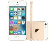 [MAGAZINE LUIZA] iPhone SE Apple 16GB 4G iOS 9 Tela 4 Câm. 12MP - Proc. Chip A9 Touch ID Dourado - Pré-venda - R$2376