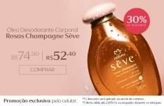 [Natura] Exclusivo Mobile - Oleo Seve Rosas Champagne - R$ 53