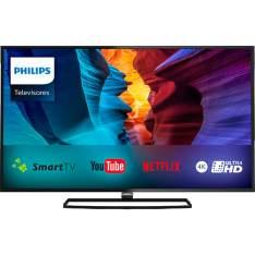 "[SHOPTIME] Smart TV LED 40"" Philips 40PUG6300 Ultra HD 4K Dual Core 4 HDMI 2 USB 840Hz - R$1567"