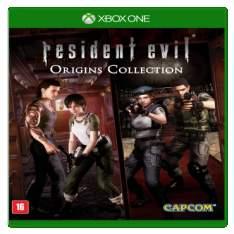 [Saraiva] Resident Evil - Origins Collection - Xbox One por R$ 90