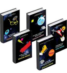 [SUBMARINO]Kit 5 Livro - O guia do mochileiro das galáxias 25R$